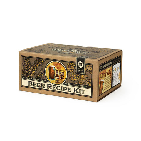 Brown Ale Beer Recipe Kit (5 Gallon)