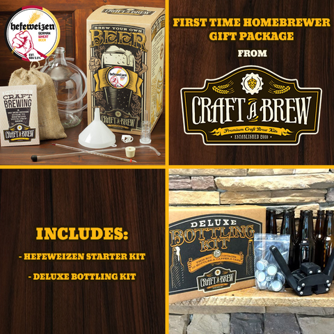 First Time Homebrewer Gift Package - Hefeweizen