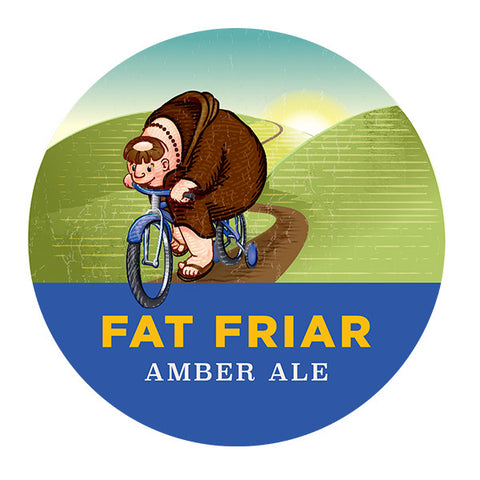 Fat Friar Amber Ale Home Beer Brewing Kit