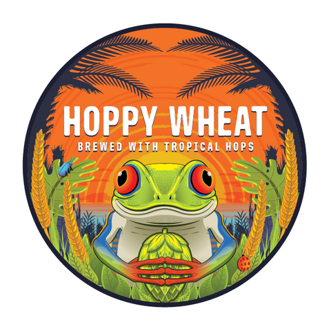 Hoppy Wheat 5 Gallon Beer Recipe Kit