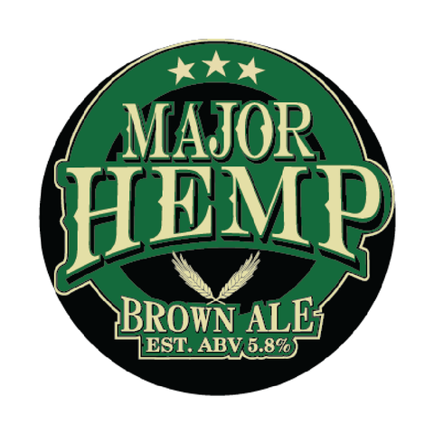 Major Hemp Brown Ale