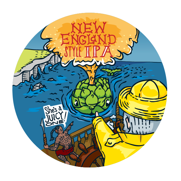 New England IPA Beer Recipe Kit