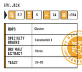 Evil Jack & #PSL Beer Recipe Kit (5 Gallon)