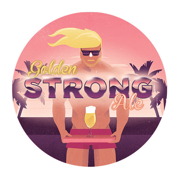 Golden Strong Ale 5 Gallon Beer Recipe Kit