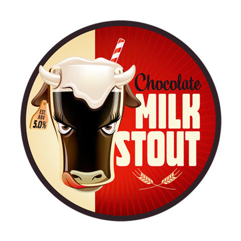 Chocolate Milk Stout Beer Recipe Kit (5 Gallon)