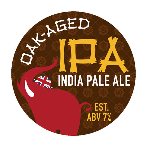Oak Aged IPA Beer Recipe Kit