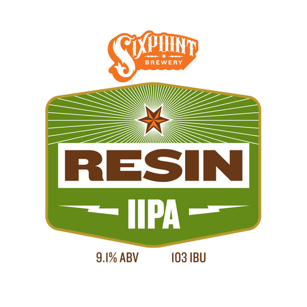 Sixpoint resin iipa sixpoint brewery beer recipe kit 5 for Craft a brew catalyst
