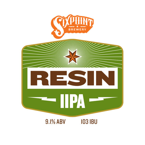 Sixpoint Resin IIPA (Sixpoint Brewery) Beer Recipe Kit (5 Gallon)