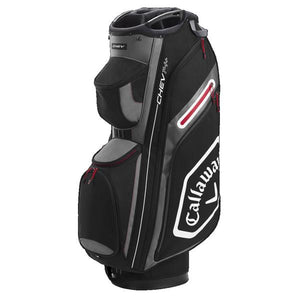 Callaway Chev 14+ Cart Bag  Black/Charcoal
