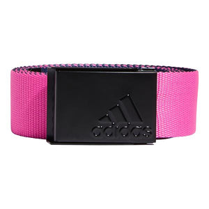 adidas Gents Reverse Web Belt Screaming Pink