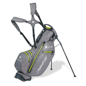 Motocaddy Hydroflex Stand Bag Charcoal - Lime