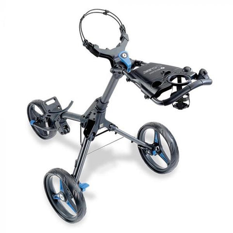 Motocaddy New Cube Push Trolley Blue 2020