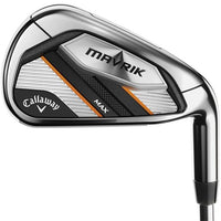 Callaway Mavrik Max 7 Steel Irons 4-PW Mens Left Hand