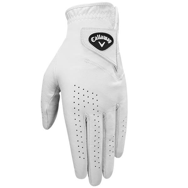 Callaway Dawn Patrol Glove Gents Left Hand  (RIGHT HANDED GOLFER ) White