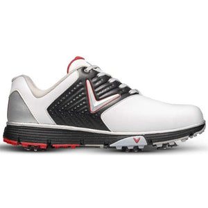 Callaway Chev Mulligan S Mens Golf Shoes White - Black - Red