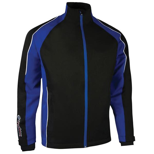 Sunderland Gents Vancouver Waterproof Pro Jacket Black - Electric - White