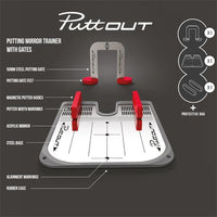 Puttout Putting Mirror