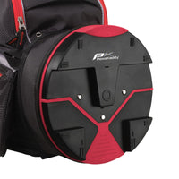 PowaKaddy X-Lite Bag Black/Titanium /Red