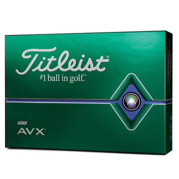 Titleist AVX Golf Balls Dozen White
