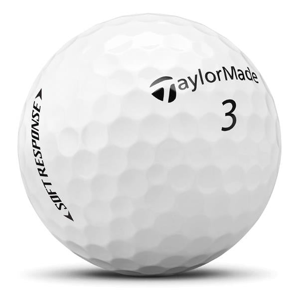 TaylorMade TM20 Soft Response Golf Balls White