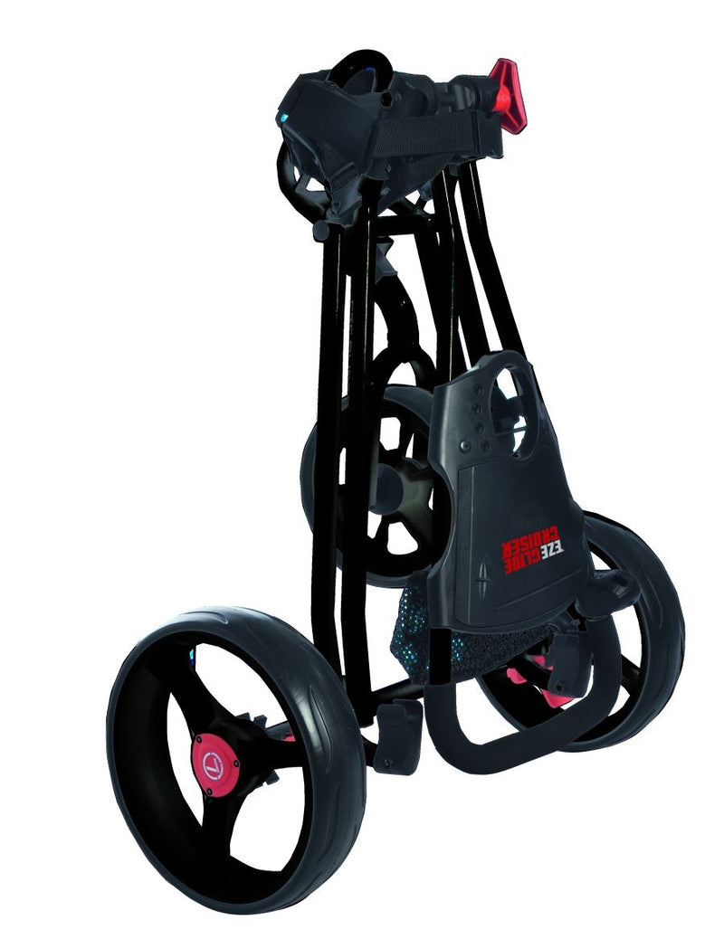 EZEGLIDE CRUISER TROLLEY - BLACK (FREE DELIVERY)