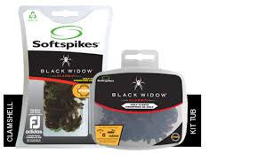 Black Widow Classic Soft Spike Golf Cleat Pins