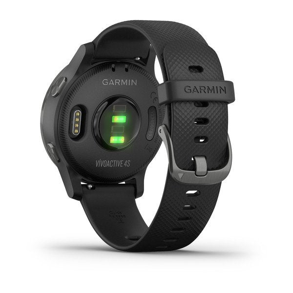 vívoactive 4s Black with Slate  (PVD Black/Gunmetal)