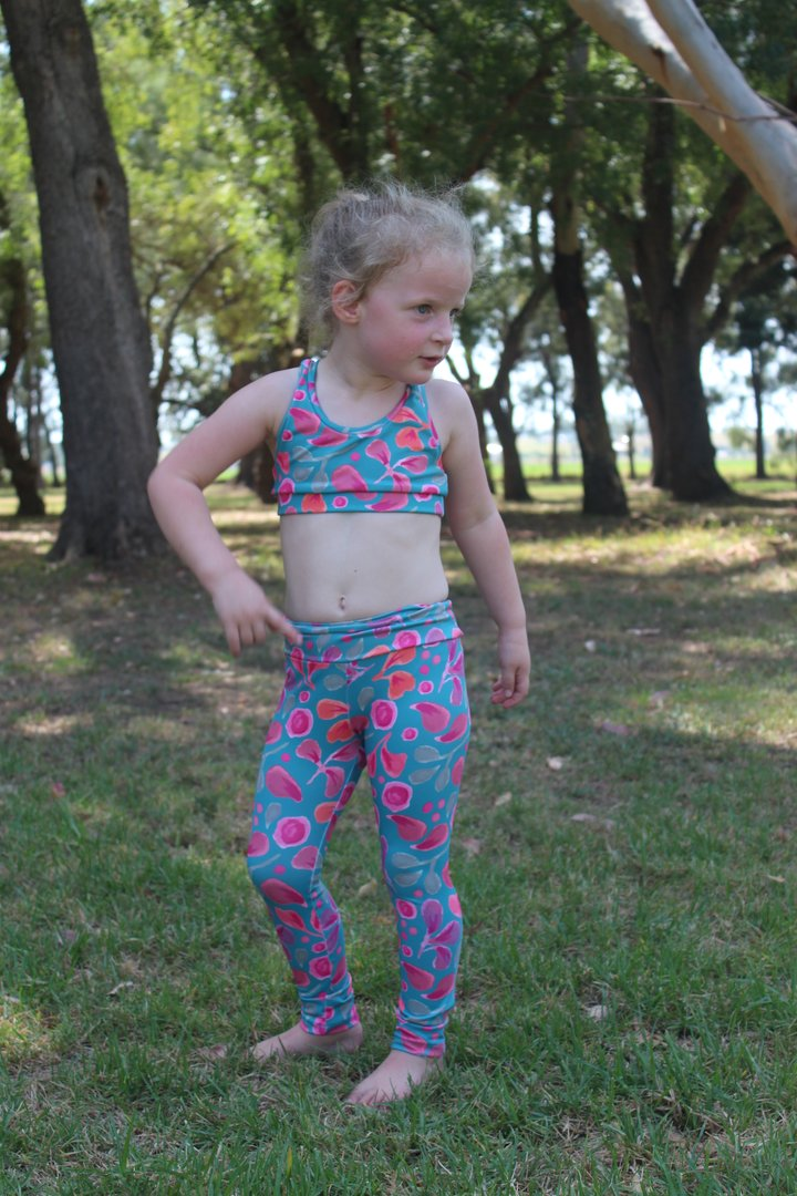 PRE-ORDER - Kids Sports Tights