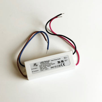 Wired 12V DC, 15 Watt Power Supply