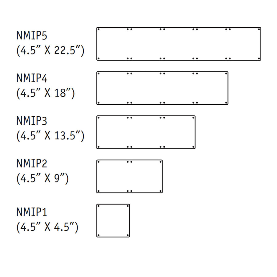 NMIP Illuminated Panels for 3
