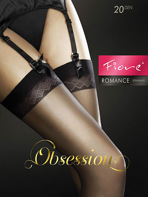 Fiore Romance 20 Denier Sheer Stockings
