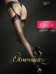 Fiore Marlena 20 Denier Back Seam Effect Stockings