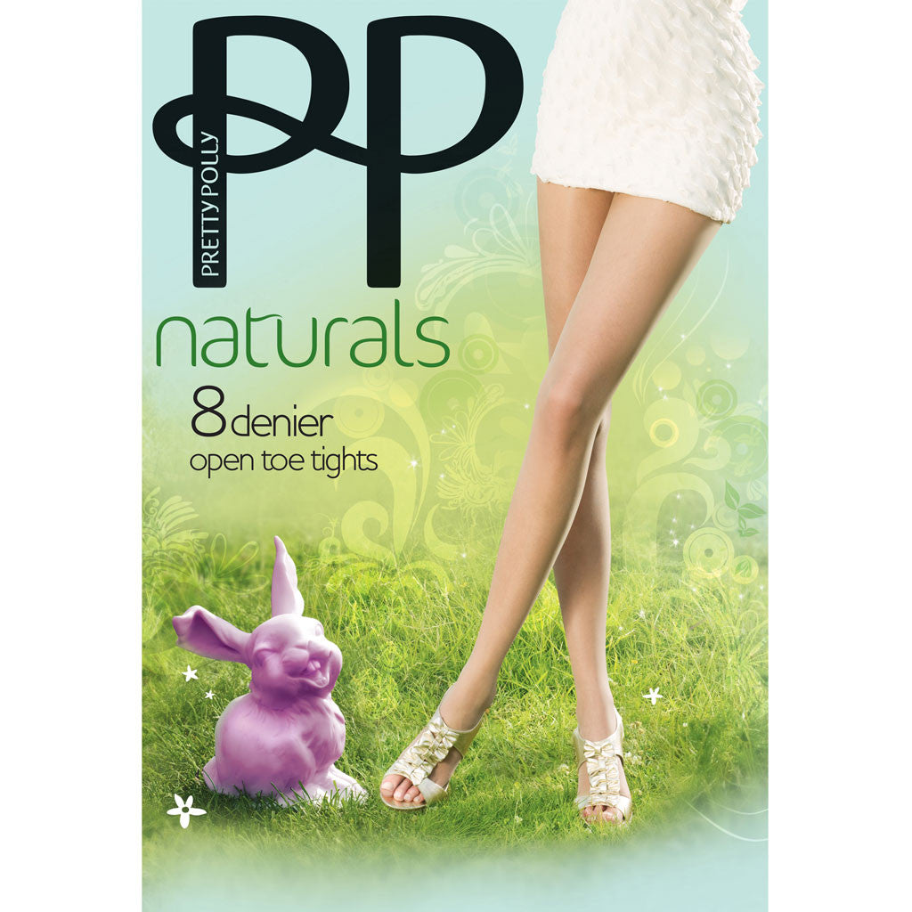 fa2c96f836f Pretty Polly Naturals 8 Denier Open Toe Tights – Simply Hosiery Online