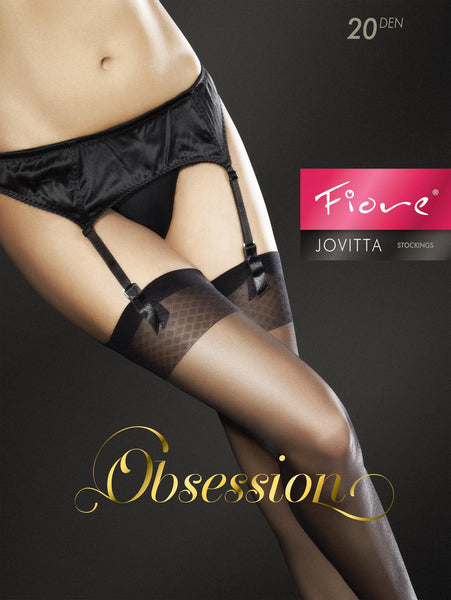 Fiore Jovitta Golden Line Sheer Stockings 20 Denier
