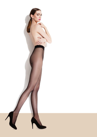 New Fiore Ada Classic 15 Denier Sheer to Waist Tights New Design & Packaging