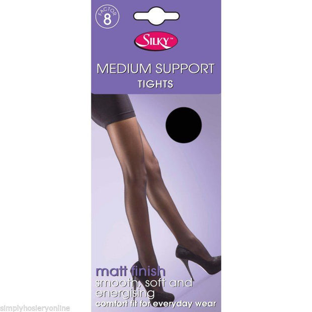 Silky Medium Support Tights Factor 8 Compression Pantyhose