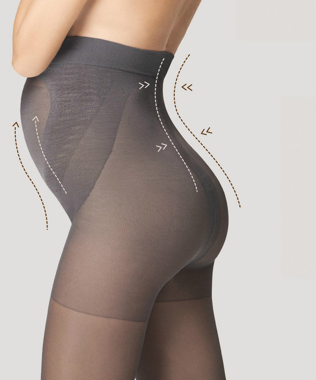 Fiore Maternity Tights Mama 40 Denier Body Care + Silver Fresh Anti Bac