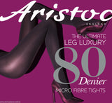 Aristoc 80 Denier Microfibre Opaque Velvet like Touch Soft Tights