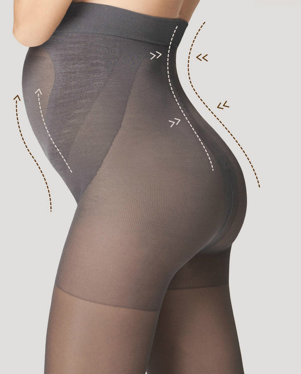 Fiore Maternity Tights Mama 100 Denier Body Care + Silver Fresh Anti Bacterial