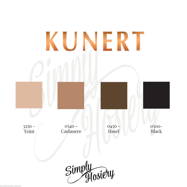 Kunert Satin Look Hold Ups 20 Denier Gloss Stay Ups Deep Lace Run Stop Toes