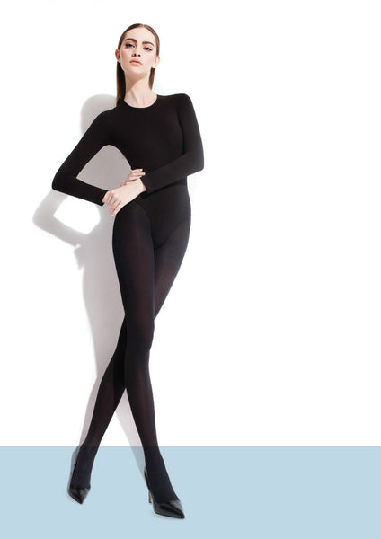 Fiore Roza Classic Opaque Microfibre Tights 60 Denier New Design Packaging