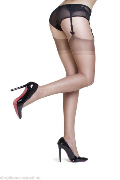91846bd79 Gio Reinforced Heel and Toe Stockings at – Simply Hosiery Online