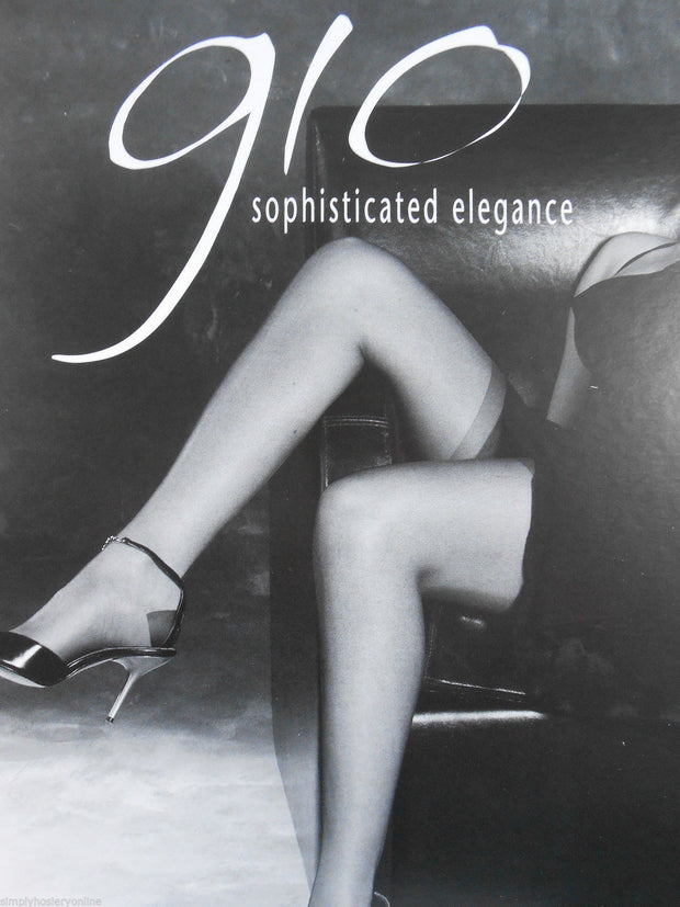 Gio Reinforced Heel and Toe Stockings Packaging