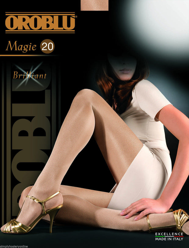 Oroblu Magie Gloss Tights 20 Denier Sheer to Waist