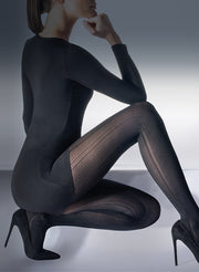 Luxury Rib Opaque Tights