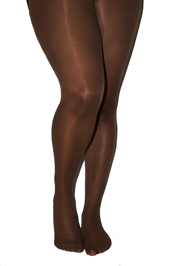 Nubian Skin Curve Fuller Figure 15 Denier Sheer Matt Tights