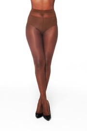 Nubian Skin 10 Denier Sheer Matt Tights