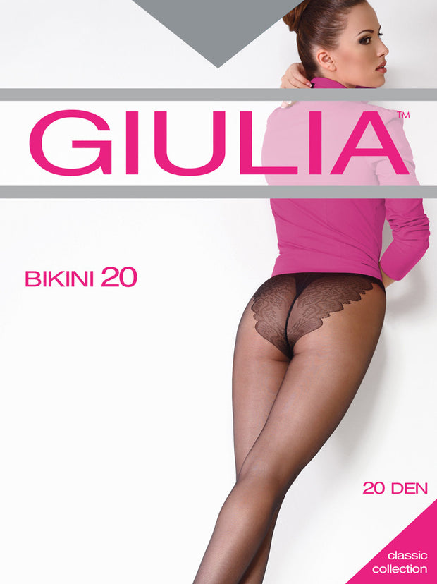 Giulia Bikini 20 Denier Tights