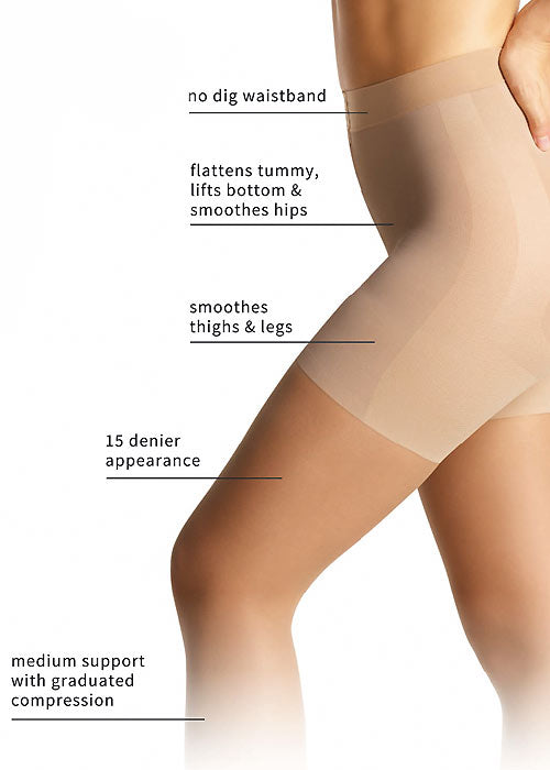 Charnos Anti Cellulite 15 Denier Tights