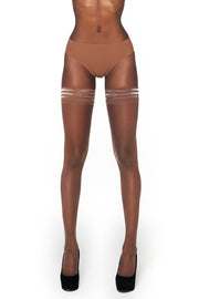 Nubian Skin 10 Denier Sheer Hold Ups